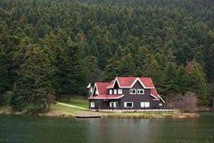 lac de maison photos stock