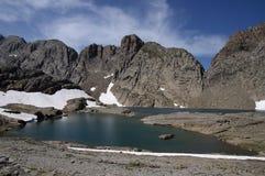 Lac de Marbore Image libre de droits