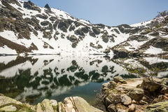 Lac de Melo in Corsica Stock Photography