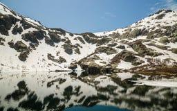 Lac de Melo in Corsica Royalty Free Stock Photo