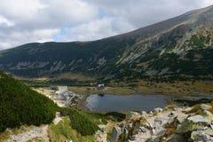 Lac de montagne de Rila images stock