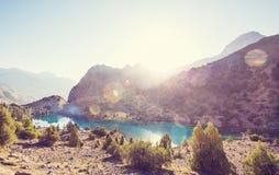 Lac de montagnes de Fann Photo libre de droits