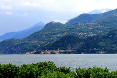 Lac de négligence à la montagne Images stock