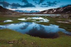Lac de Nino, Corse Photographie stock libre de droits