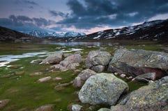Lac de Nino, Córcega Fotos de archivo libres de regalías