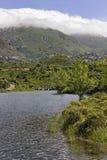 Lac de Padula (Padula lake) near the mountain village Oletta in the Nebbio region, Northern Corsica, France Stock Photography