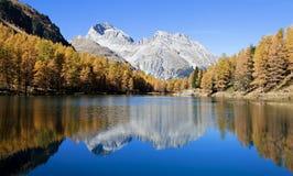 Lac de Palpuogna images stock