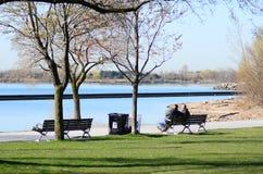 Lac de paysage d'Ontario Images libres de droits