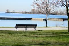 Lac de paysage d'Ontario Image libre de droits