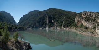 Lac de paysage de l'Espagne photographie stock libre de droits