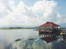 Lac de phayao de Kwan Images stock