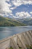 Lac de Roselend στο κραμπολάχανο στοκ φωτογραφίες με δικαίωμα ελεύθερης χρήσης