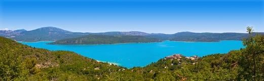 Lac de Sainte-Croix, озеро Sainte-Croix, Ущелья du Verdon стоковое изображение