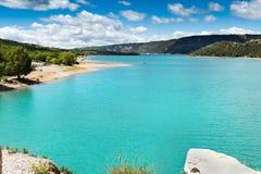 Lac de Sainte Croix Lizenzfreies Stockbild