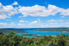Lac de Sainte-Croix fotografia stock libera da diritti