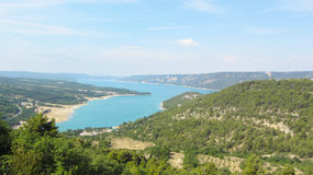 Lac de Sainte-Croix, Gorges du Verdon, France Royalty Free Stock Image