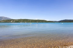 Lac de sainte-croix Royalty Free Stock Photo