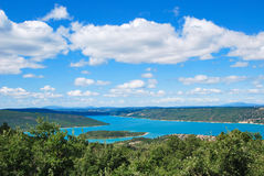 Lac de Sainte-Croix royalty free stock photo