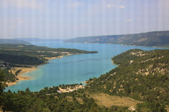 Lac de Sainte Croix - la Provence, France Image stock