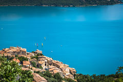 Lac de Sainte-Croix, Lake of Sainte-Croix, Gorges du Verdon, Pro Royalty Free Stock Image