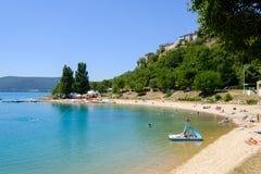 Lac de Sainte Croix Provence, Alpes, France Royalty Free Stock Photography