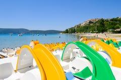Lac de Sainte Croix Provence, Alpes, France Royalty Free Stock Photos