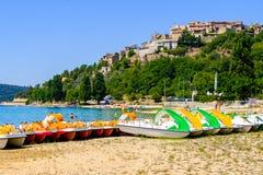 Lac de Sainte Croix Provence, Alpes, France Stock Photos
