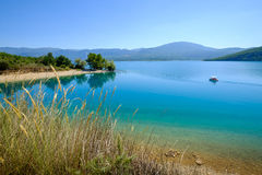 Lac de Sainte Croix Provence, Alpes, France Stock Photos