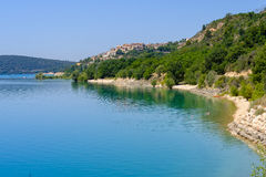 Lac DE Sainte Croix Provence, Alpes, Frankrijk Royalty-vrije Stock Afbeeldingen