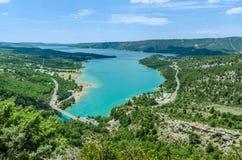 Lac de Sainte-Croix in Provence, France Stock Photo