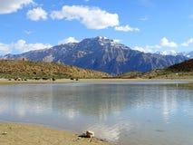 Lac de spiti Image stock