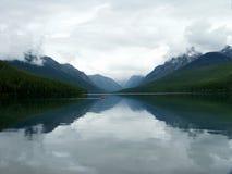 Lac de stationnement de glacier Images libres de droits