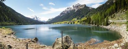 Lac de Sufers photo stock