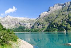 Lac DE Tseuzier Royalty-vrije Stock Foto's