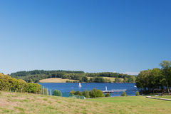 Lac de Vassiviere Royalty Free Stock Photography