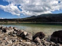 Lac de Venere, île de Pantelleria, Sicile, Italie photos stock