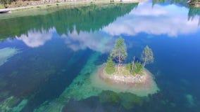 Lac de vert de Gosau, Autriche à côté de hallstatt clips vidéos