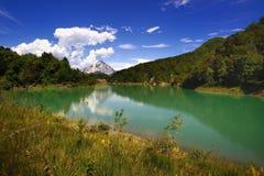 Lac de Verzegnis Italie images stock