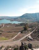 Lac de Zahara Images libres de droits