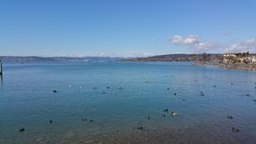 Lac de Zurich Photo stock