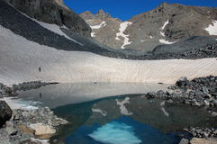 Lac Deniz Golu, Turquie kackar image libre de droits