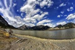 Lac des łuki Alberta Zdjęcie Stock