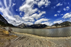 Lac des arcs Alberta Stock Photo