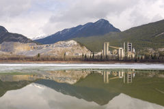 Lac Des Arcs, Kananaskis Counrty Stock Photography