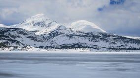 Lac des Bouillouses Στοκ εικόνες με δικαίωμα ελεύθερης χρήσης
