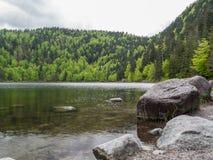 Lac des Corbeaux Zdjęcie Stock
