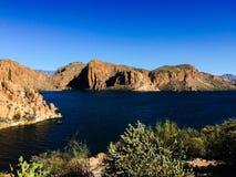 Lac desert en Arizona Photographie stock libre de droits