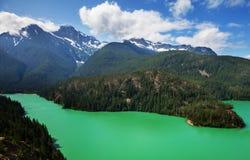 Lac diablo images stock