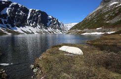 Lac Djupvatnet photos stock