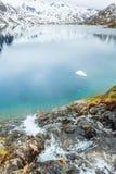 Lac Djupvatnet, Norvège Photo libre de droits
